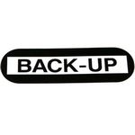 Backup Decal for Ryko Back-Up Light