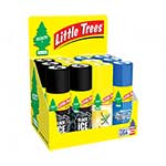 Car Freshner ZCD-09000-BJ Little Trees in a Can 12 Piece Display - 3 Scents Included