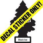 Little Trees Black Ice Overlay Decal